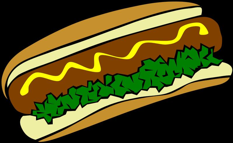 raffle clipart carnival food