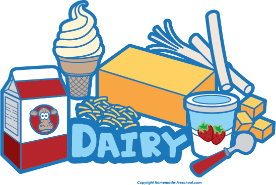 Free food groups . Foods clipart group