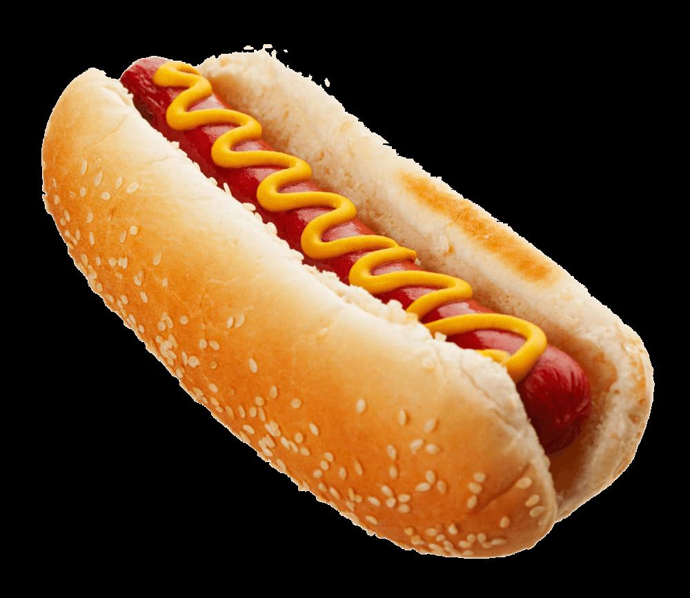 Hot dog top transparent. Hotdog clipart frankfurter