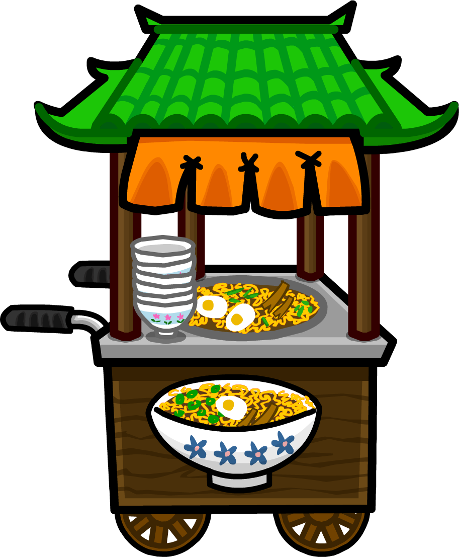Foods clipart noodle. Stand club penguin wiki