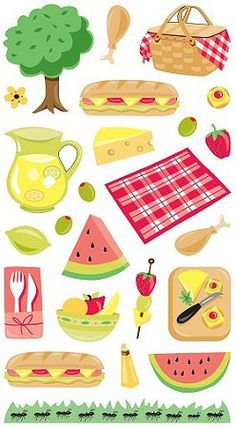 best images in. Foods clipart picnic