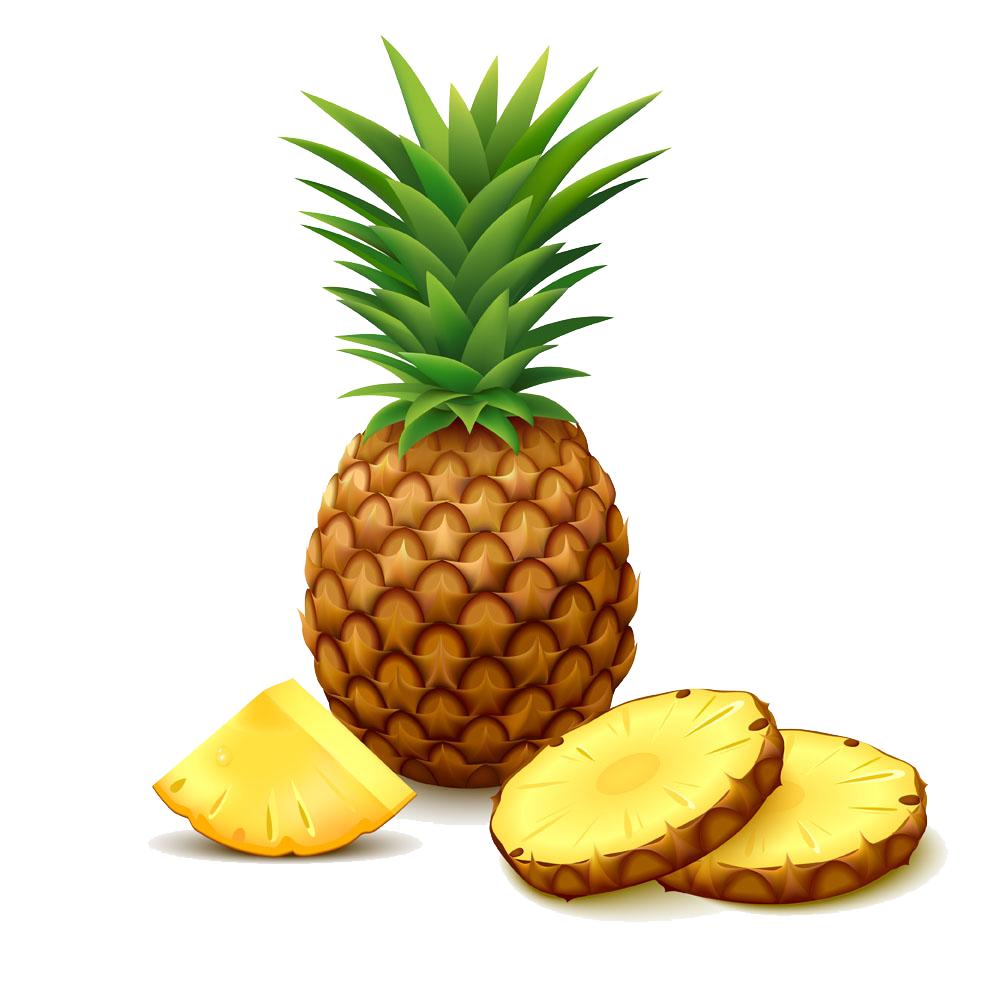 Clip art transprent png. Pear clipart pineapple