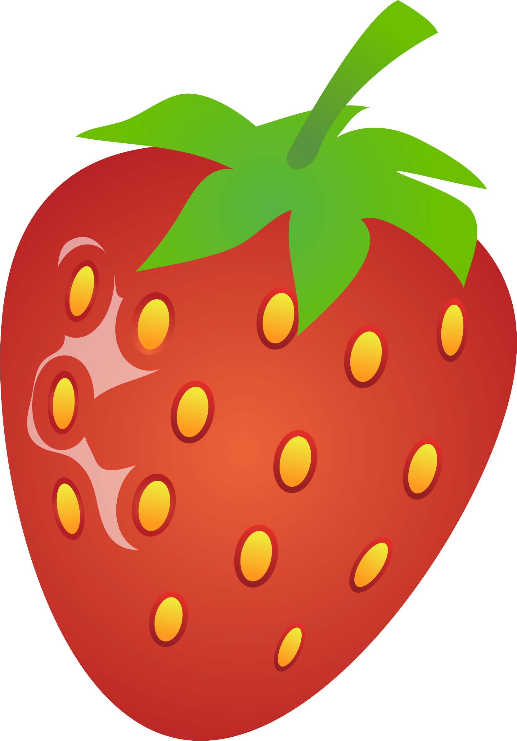 Strawberries clipart pdf. Strawberry big image png
