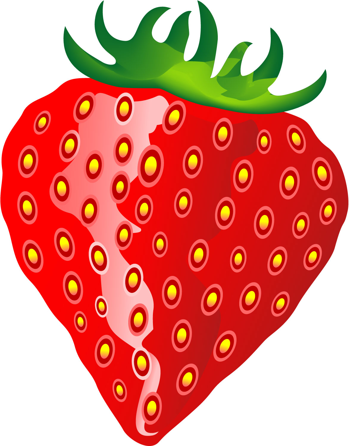 Clip art eating strawberry. Strawberries clipart object