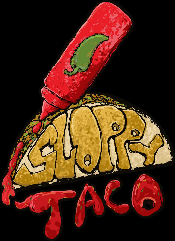 Unisex t shirt sloppy. Foods clipart taco