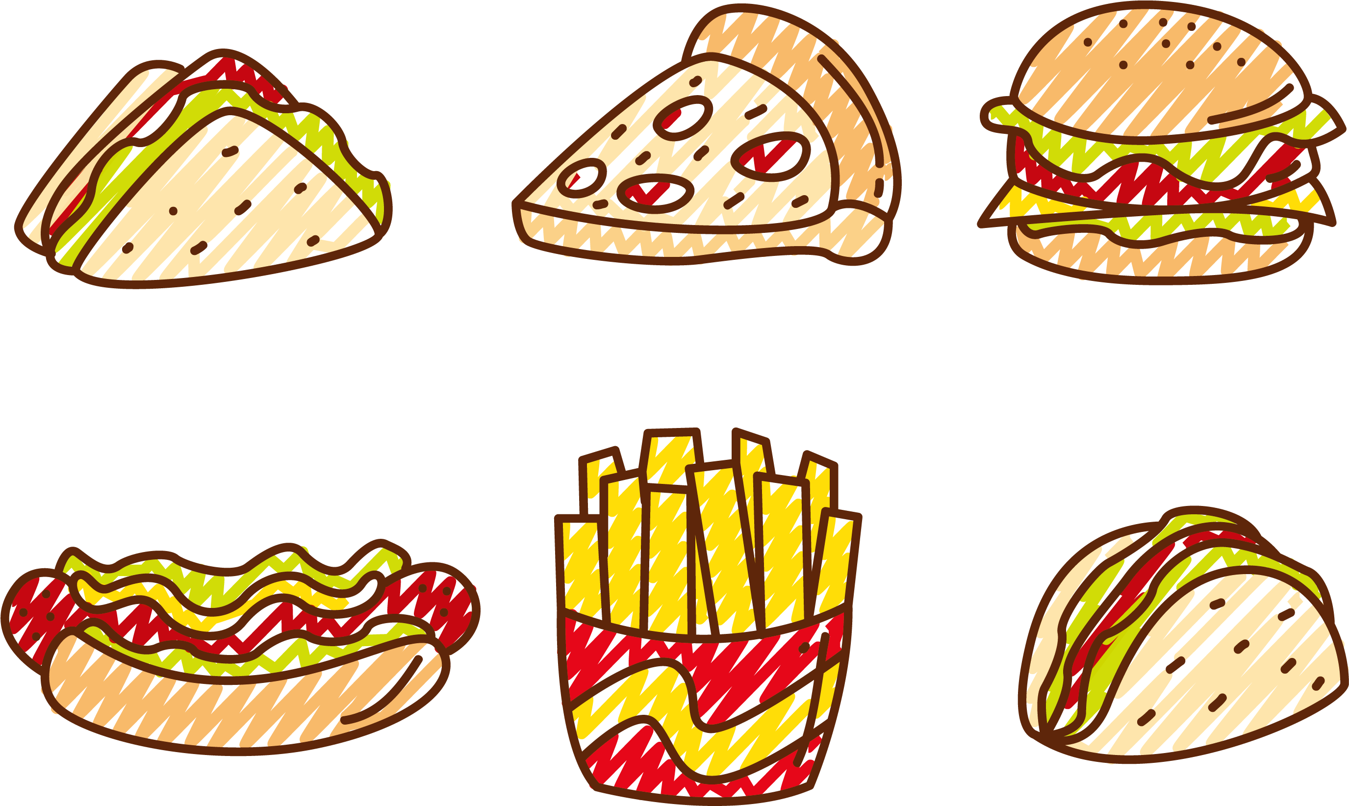 Foods clipart vector. Pizza clip hot library