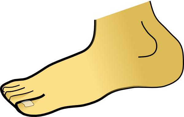 Free . Foot clipart