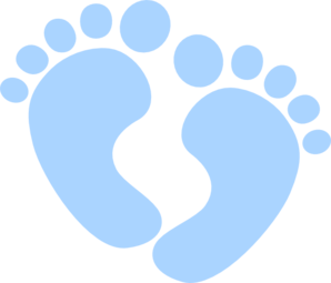 foot clipart baby boy