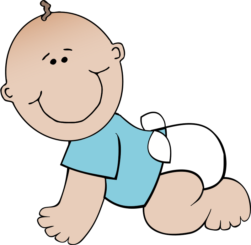 Foot clipart baby boy. Body clipground free crawling