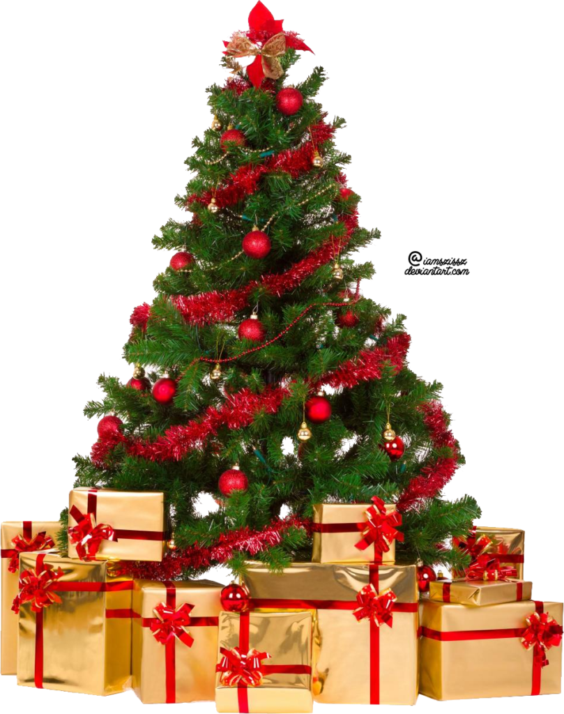 Tree clip art free. Foot clipart christmas