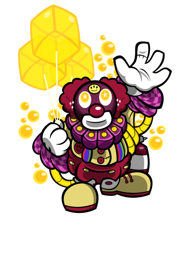 Glove clipart clown. Fan naut oleg the