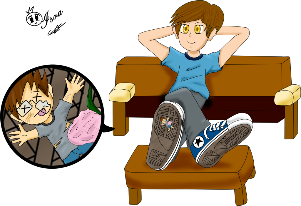 Unaware crush by iscastanon. Foot clipart foot stomping