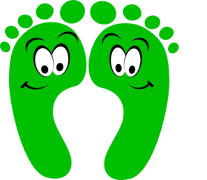 Foot clipart kind foot. Hands and feet kid