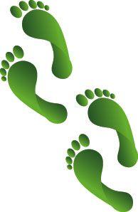 best wee folk. Footprint clipart leprechaun