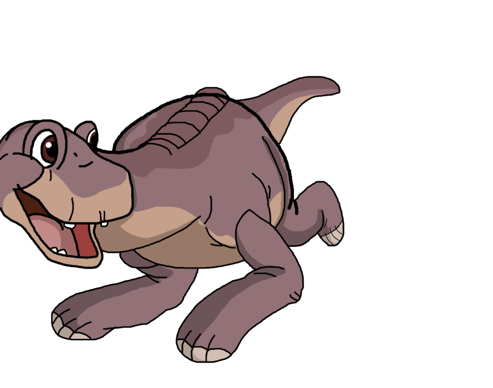 Littlefoot the before time. Land clipart land water
