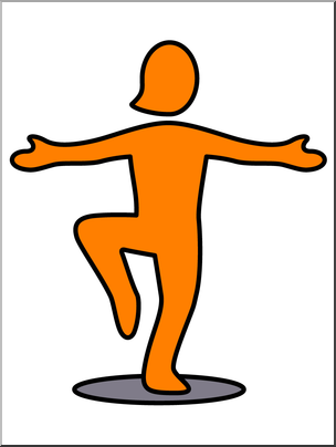 Clip art simple exercise. Foot clipart one foot