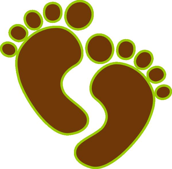 Baby feet clip art. Foot clipart small foot