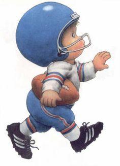 Player portal . Football clipart baby
