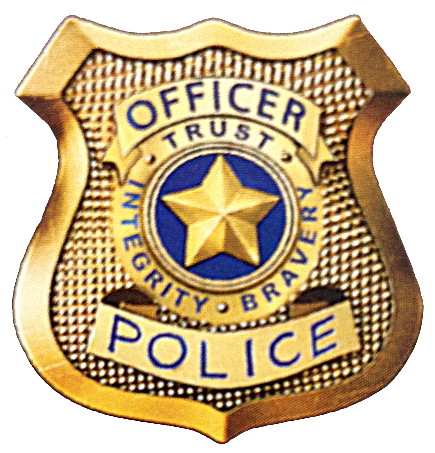 Football clipart badge. Police for kids all