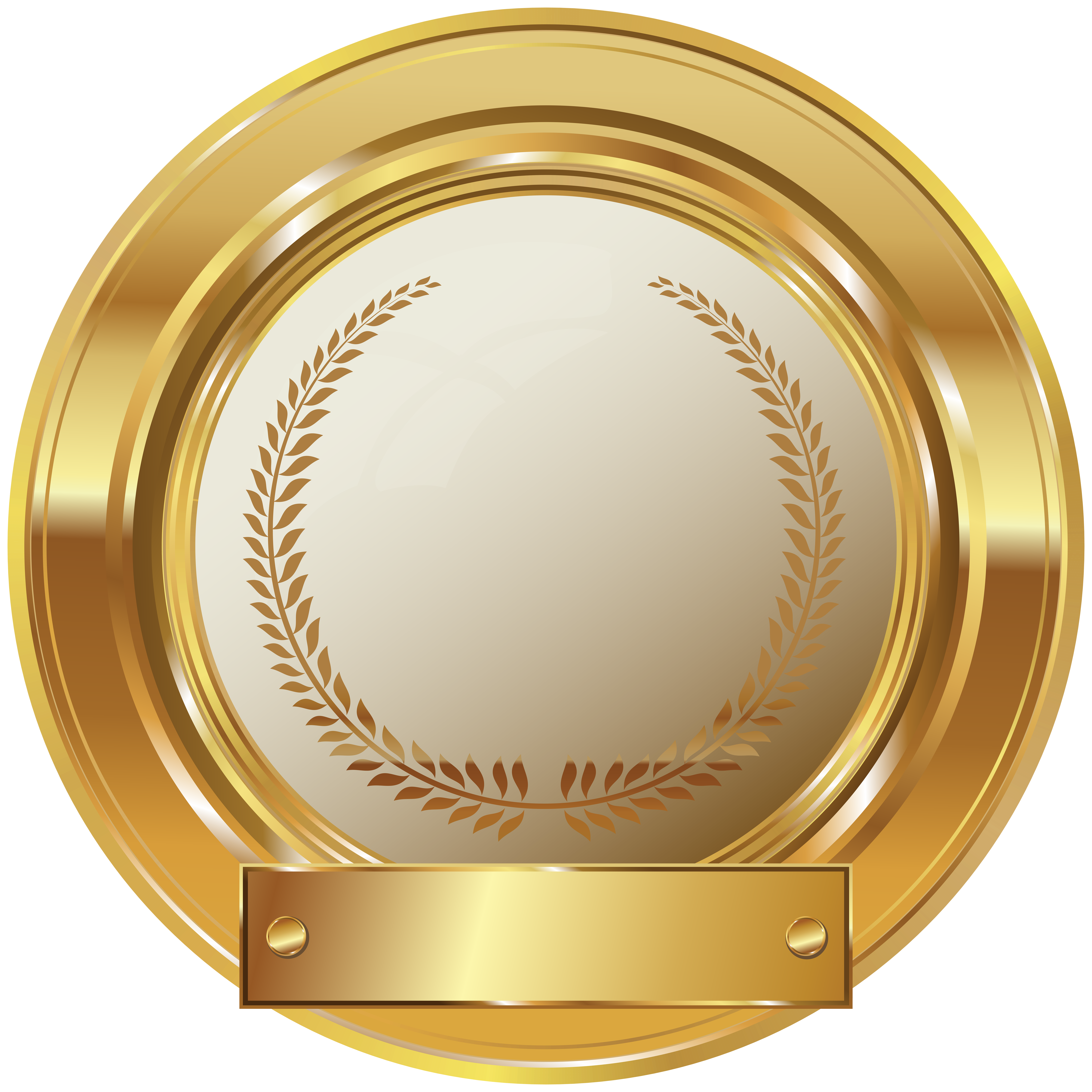 Gold seal png clip. Football clipart badge
