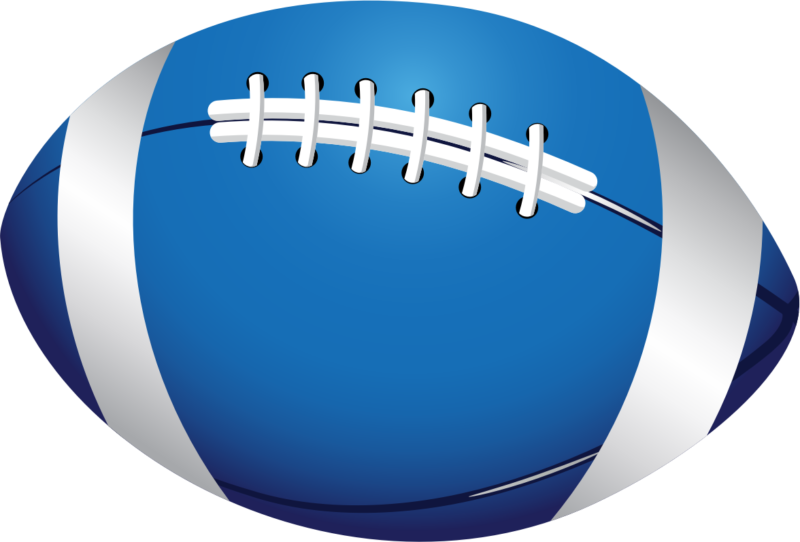 Free images black and. Football clipart blue