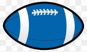 Portal . Football clipart blue