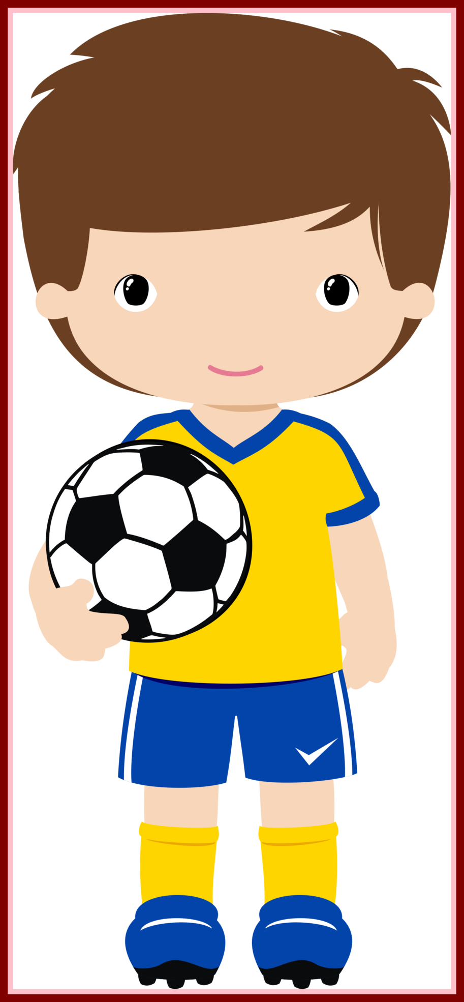 Football clipart book. Amazing a player getting