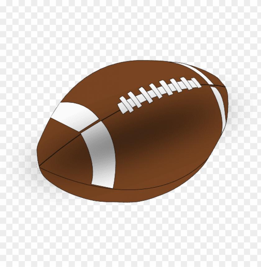 Cartoon . Football clipart clear background