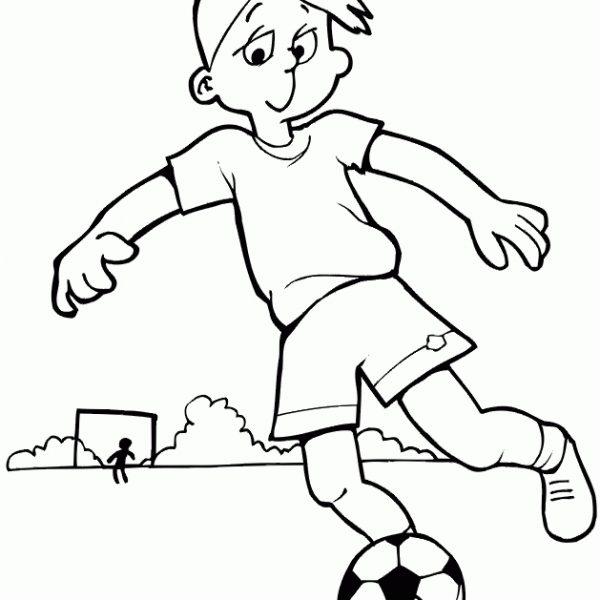 Football clipart corner. Free children playing download