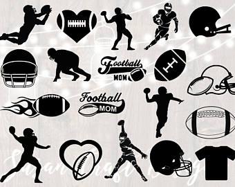 Football clipart cricket. Etsy