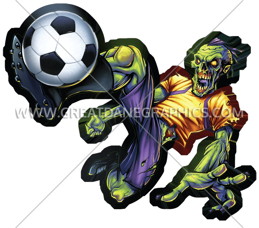 Zombie clipart soccer. Football free on dumielauxepices