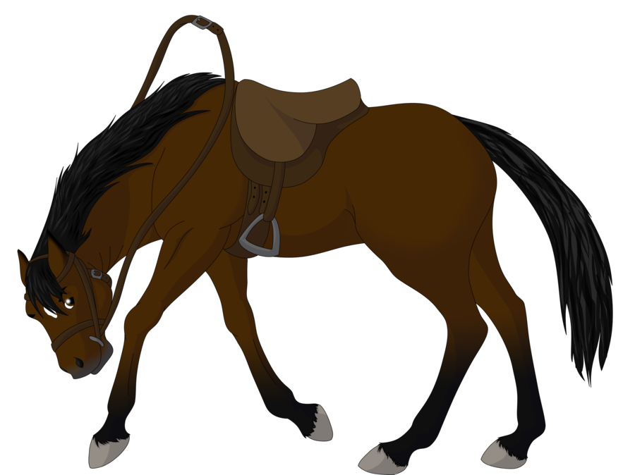 Football clipart horse. Free bucking images download