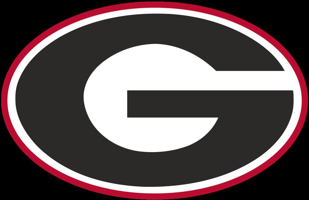 Football clipart logo. File georgia athletics svg
