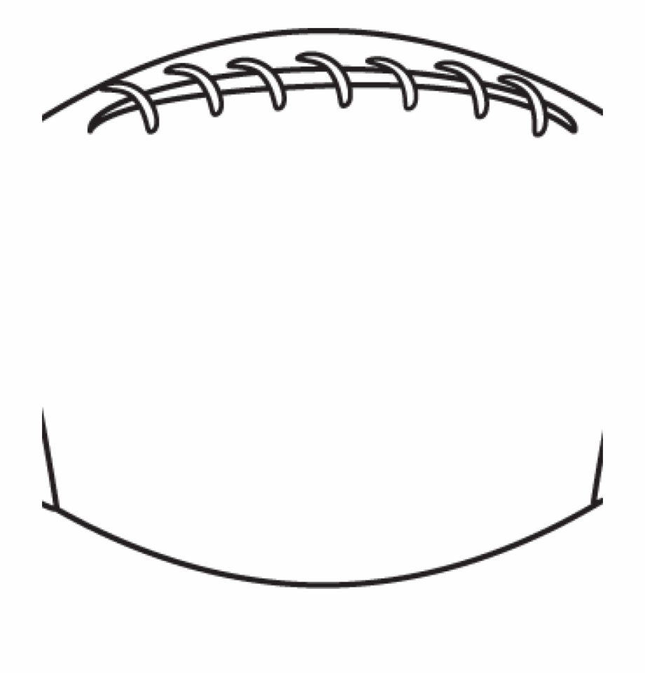 Image . Football clipart outline