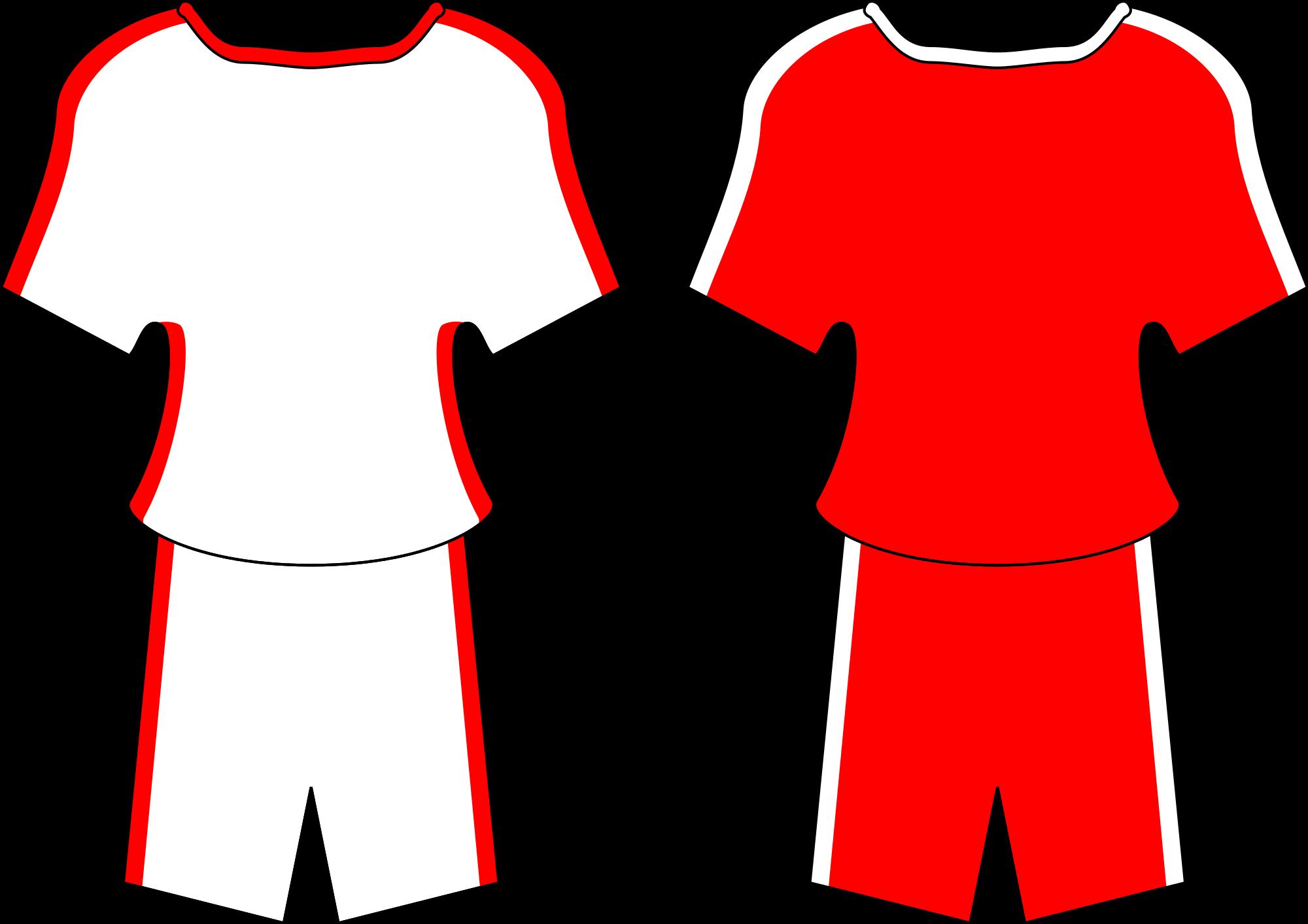 Sports shirts cliparts shop. Football clipart pants