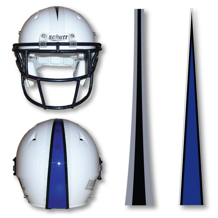 Stripes for your helmets. Football clipart pants