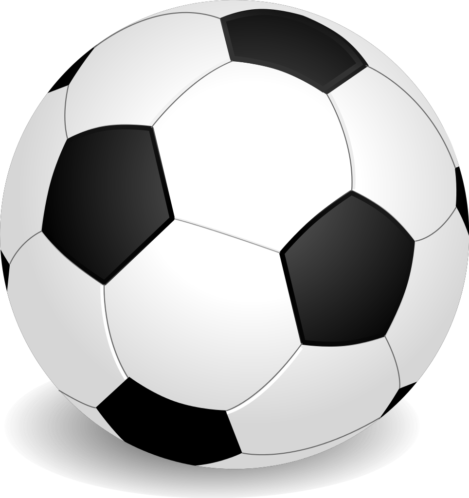Words clipart soccer. File football ball svg