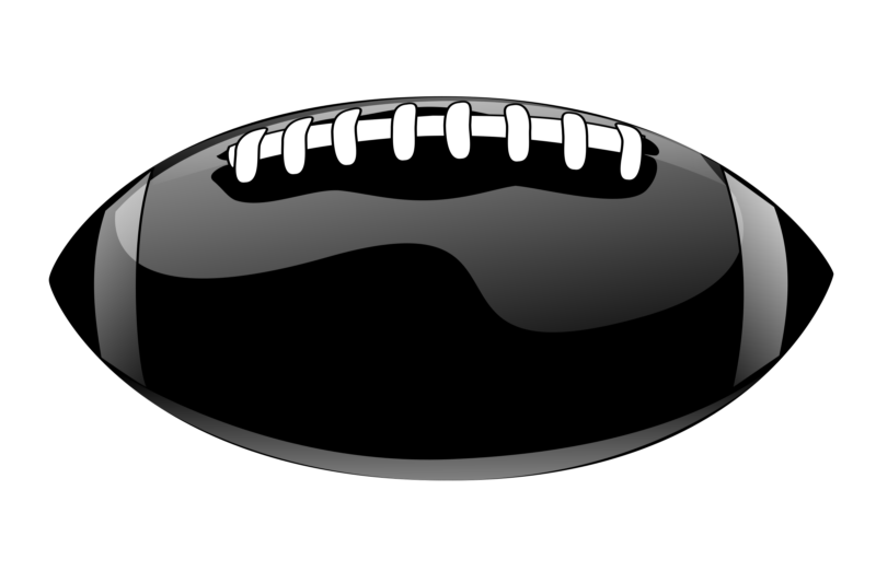 Football clipart pizza. Free images black and
