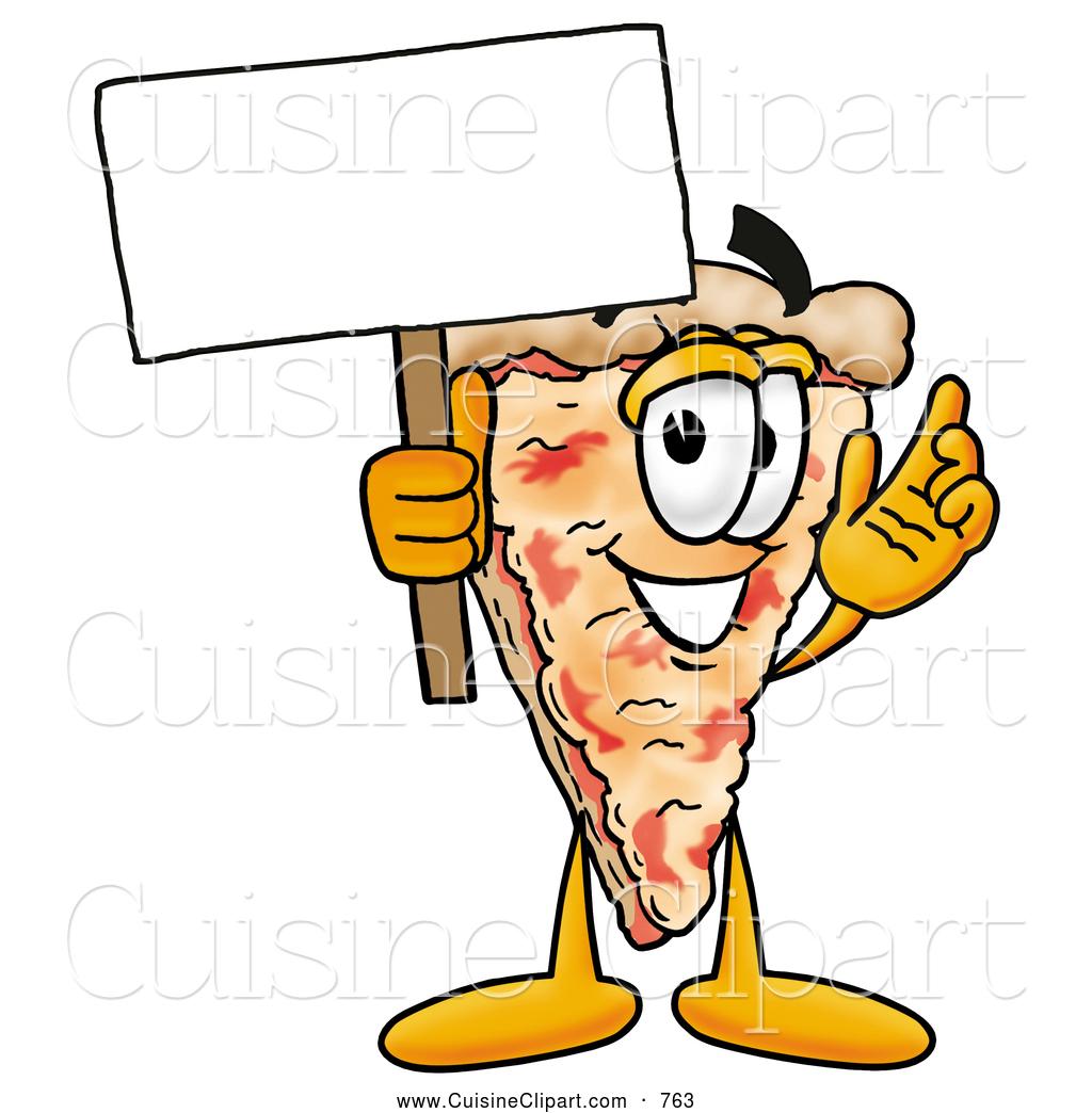 Cuisine of a slice. Football clipart pizza