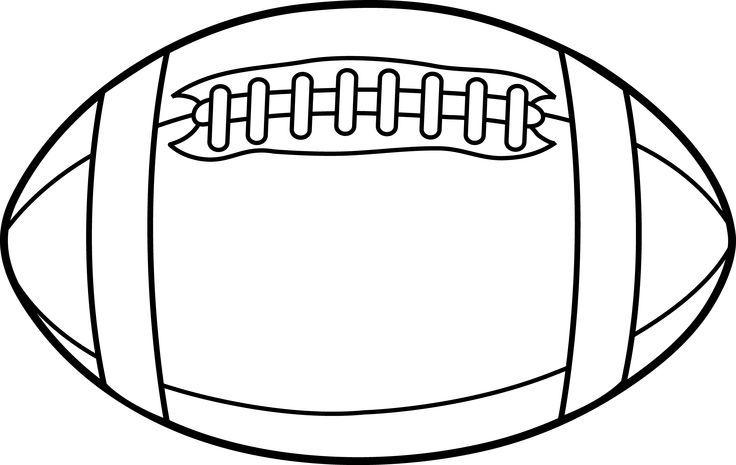 Football clipart plain. Pin on senior