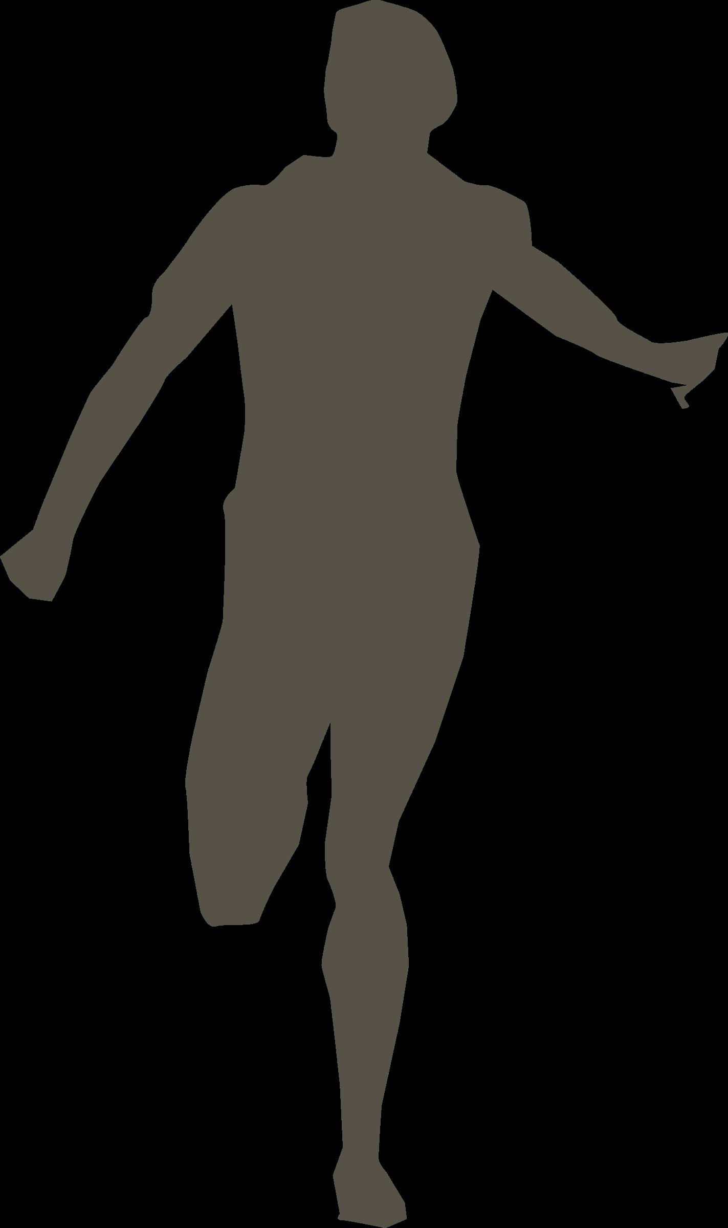 Runner big image png. Football clipart shadow