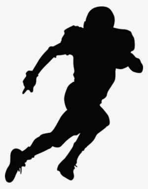 Player silhouette png images. Football clipart shadow