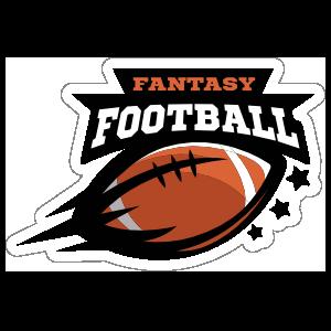 Fantasy . Football clipart sticker