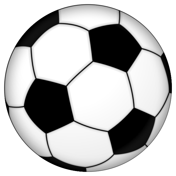 Football clipart thing. Image of soccer ball