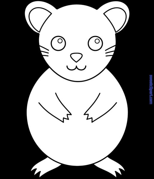 Hamster clipart line. All clip art archives
