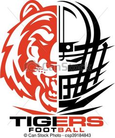 Football clipart tiger.  best designs images