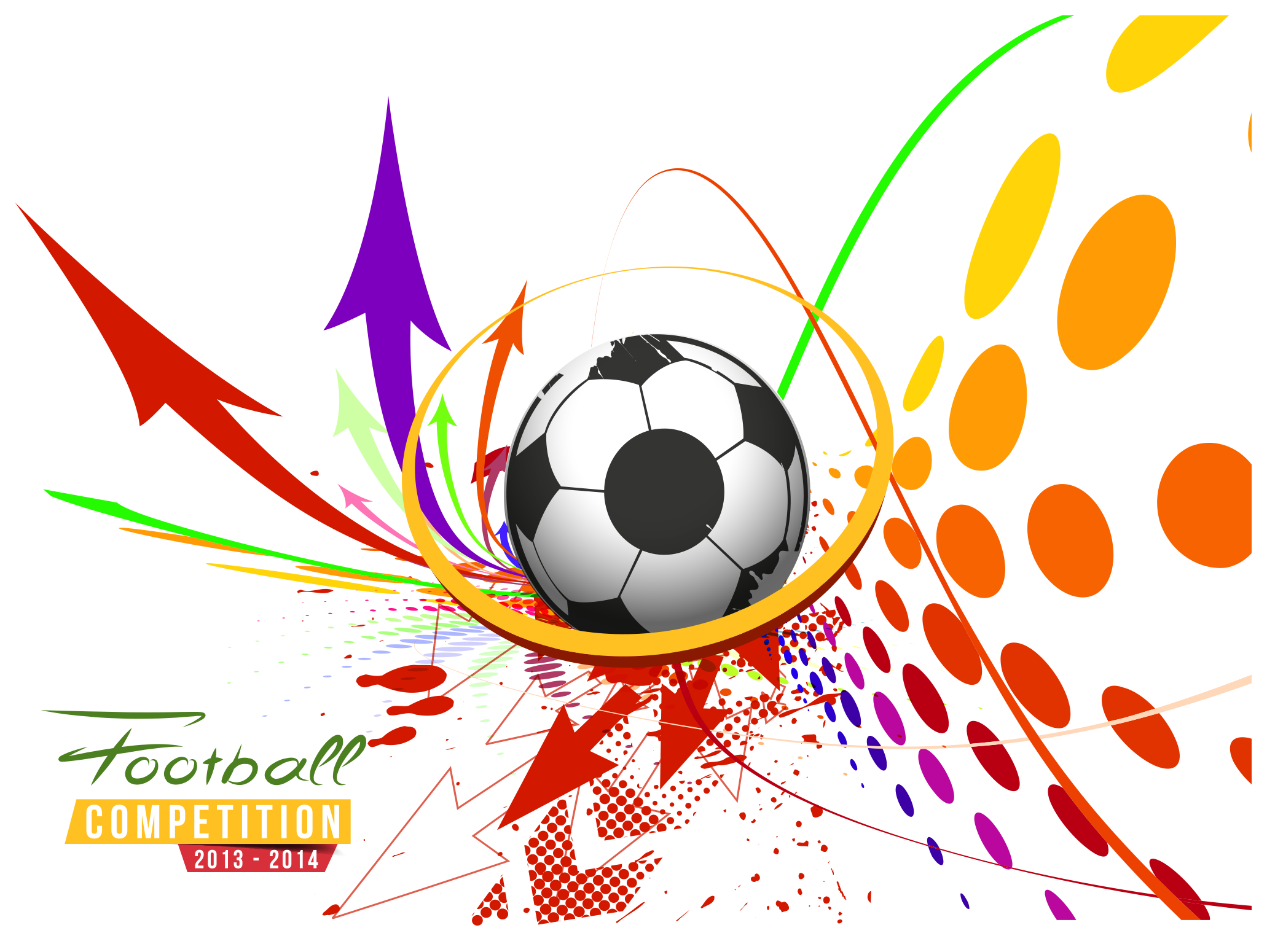 Poster sport sports transprent. Football vector png