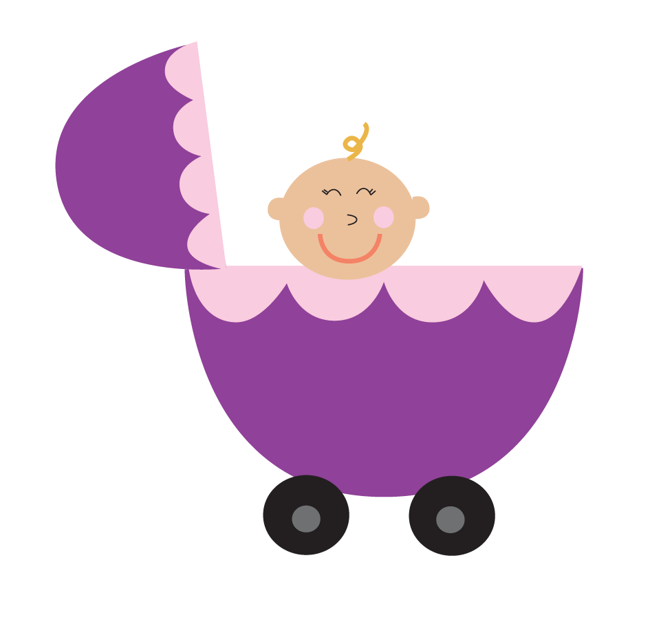 Purple carriage clipground png. Wagon clipart baby