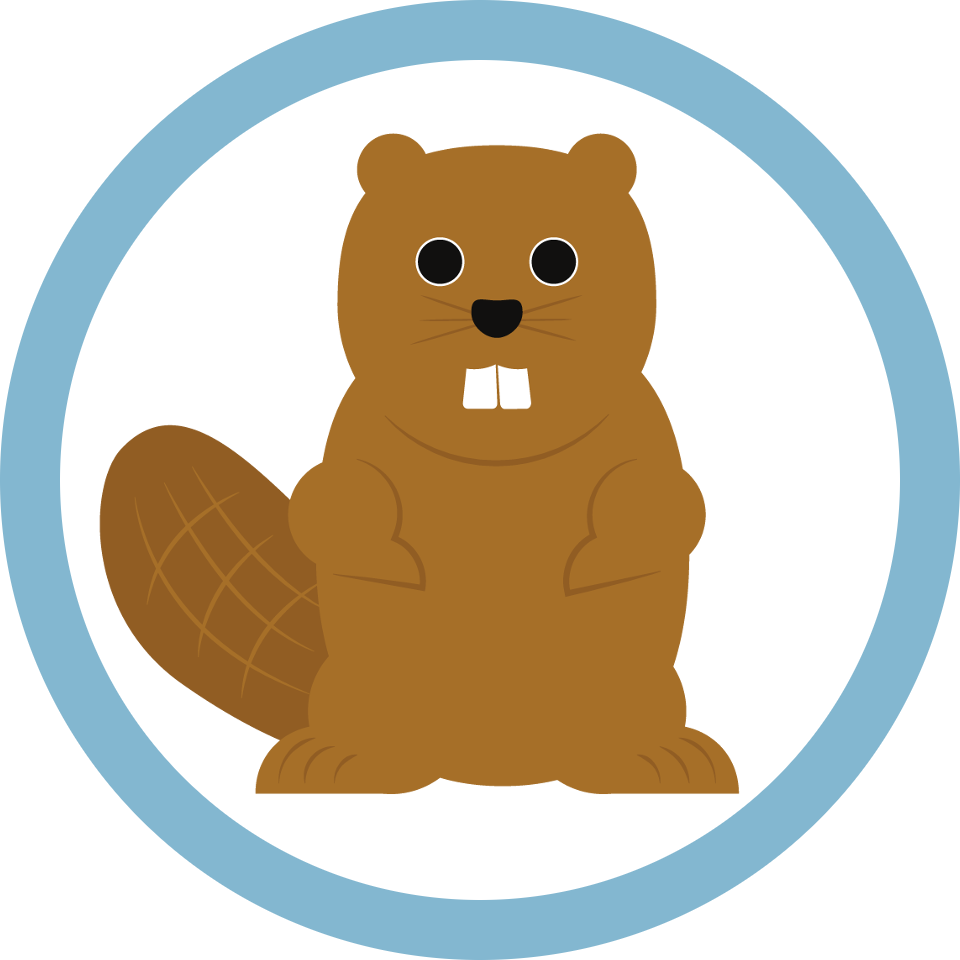 Footprints clipart beaver. Github reelyactive collects the