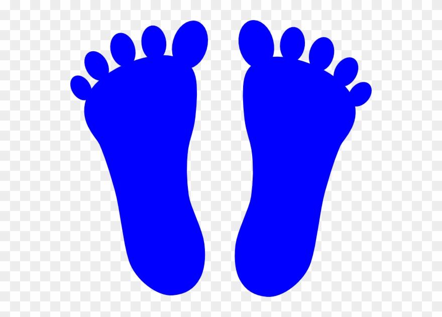 Png download pinclipart . Footprints clipart blue